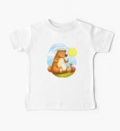 The Bear & the Squirrel - Chill & Be Zen Baby Tee