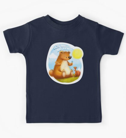 The Bear & the Squirrel - Chill & Be Zen Kids Tee