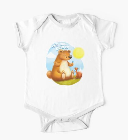 The Bear & the Squirrel - Chill & Be Zen One Piece - Short Sleeve