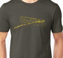 Dragonfly Yellow Unisex T-Shirt
