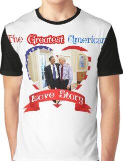 Joe Biden Barack Obama Greatest American Love Story Funny T-shirt  Graphic T-Shirt