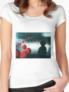 Kindheitsträume Women's Fitted Scoop T-Shirt
