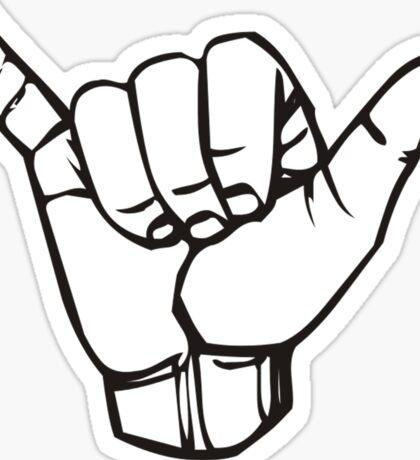 Shaka ASL  Sticker