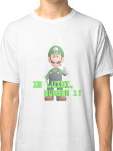 Super Mario Bros. - Luigi Classic T-Shirt