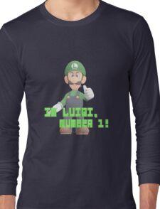 Super Mario Bros. - Luigi Long Sleeve T-Shirt