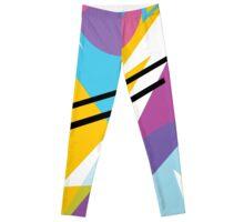 80s Style Retro Fashion Leggings