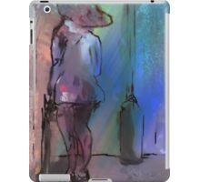 WAITING IN RAIN (C2011) iPad Case/Skin