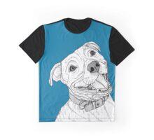 Staffordshire Bull Terrier Portrait Graphic T-Shirt