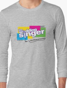 The Wedding Singer - Cast Shirts Long Sleeve T-Shirt