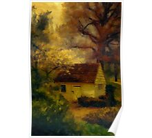 Spring House In The Spring Poster
