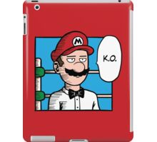 One Punch-Out Man iPad Case/Skin