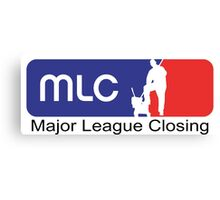 Major League Closing Canvas Print