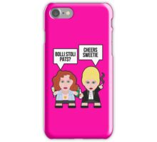 Absolutely Fabulous Sweetie! iPhone Case/Skin