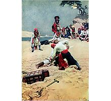 Howard Pyle Who Shall be Captain Photographic Print