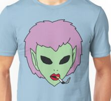 alien grunge girl Unisex T-Shirt