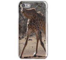 Awkward Giraffe iPhone Case/Skin