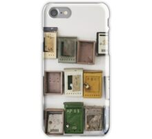 Mailboxes in Eastern Europe iPhone Case/Skin