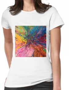 Jeweled Ascent Womens Fitted T-Shirt