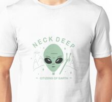 Neck Deep - Citizens of earth // green Unisex T-Shirt
