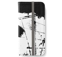mixed media compass colored vector iPhone Wallet/Case/Skin