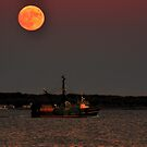 By the light of the Super super-moon  by Poete100