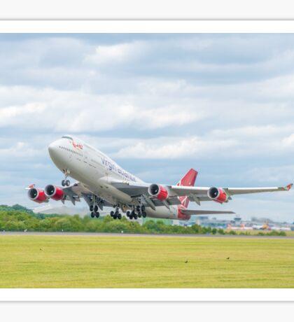 Virgin Atlantic Boeing 747 Takeoff Sticker