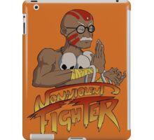 Non-Violent Fighter (light color shirt) iPad Case/Skin