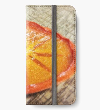 Dried Persimmon  iPhone Wallet/Case/Skin