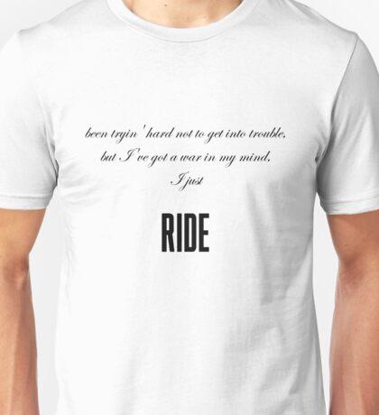 Ride-Lana Del Rey Unisex T-Shirt