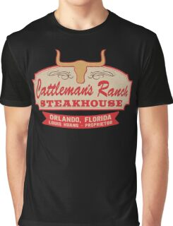"""Cattleman's Ranch Steakhouse"" -  as seen on ""Fresh Off The Boat"" Graphic T-Shirt"