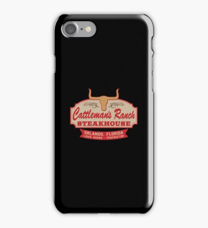 """""""Cattleman's Ranch Steakhouse"""" -  as seen on """"Fresh Off The Boat"""" iPhone Case/Skin"""