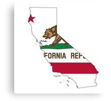 California ❤️ Canvas Print