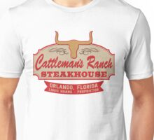 """Cattleman's Ranch Steakhouse"" -  as seen on ""Fresh Off The Boat"" Unisex T-Shirt"