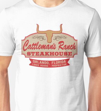 """""""Cattleman's Ranch Steakhouse"""" -  as seen on """"Fresh Off The Boat"""" Unisex T-Shirt"""