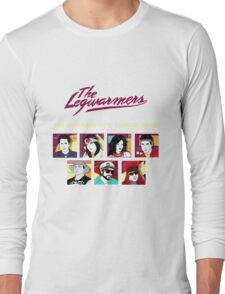 the legwarmers the ultimate 80's tribute band Long Sleeve T-Shirt