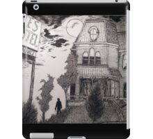 Creepy psycho Inspired Drawing iPad Case/Skin