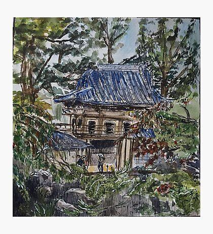 Japanese Tea Garden in San Francisco Photographic Print