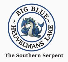 Big Blue, the Southern Serpent One Piece - Short Sleeve