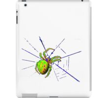 green spider iPad Case/Skin