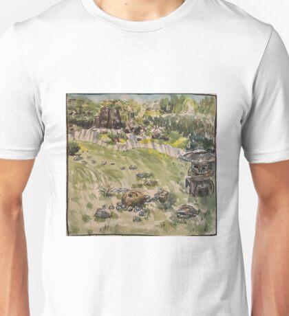 San Francisco Japanese Zen Garden Unisex T-Shirt