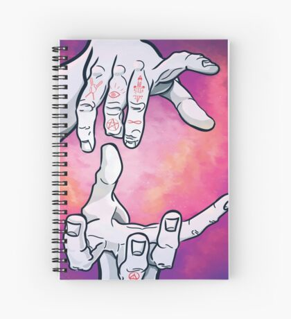 I. The Magician Spiral Notebook