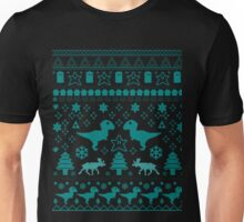 Geeky Christmas Sweater ver.blue Unisex T-Shirt
