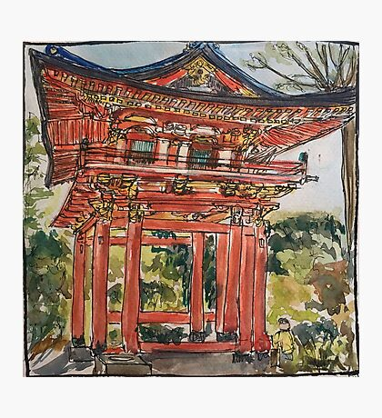 Pagoda - Japanese Tea Garden Photographic Print