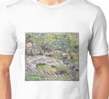 Zen Garden in SF's Japanese Tea Garden Unisex T-Shirt