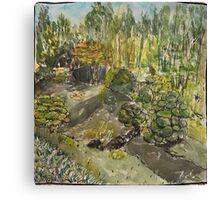 San Francisco Japanese Tea Garden Canvas Print
