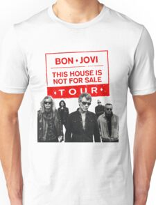 BON - JOVI THIS HOUSE IS NOT FOR SALE TOUR 2017 Unisex T-Shirt