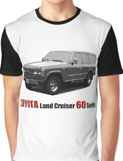 TOYOTA Land Cruiser 60 Series Graphic T-Shirt