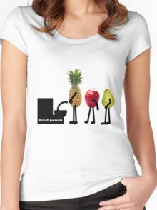 Fruit punch Women's Fitted Scoop T-Shirt