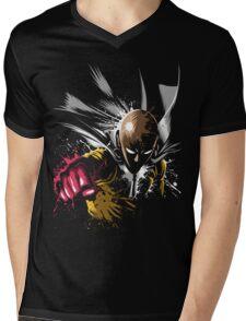 One Punch Man Mens V-Neck T-Shirt
