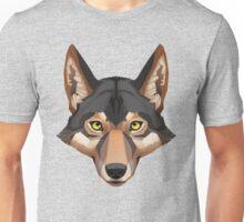 Wolf Portrait Unisex T-Shirt